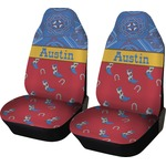 Cowboy Car Seat Covers (Set of Two) (Personalized)