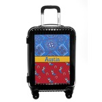 Cowboy Carry On Hard Shell Suitcase (Personalized)