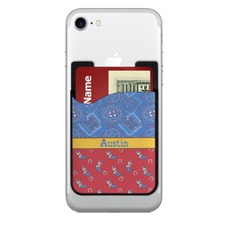 Cowboy Cell Phone Credit Card Holder (Personalized)