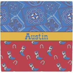 Cowboy Ceramic Tile Hot Pad (Personalized)
