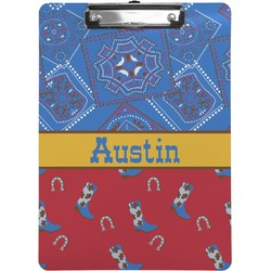 Cowboy Clipboard (Personalized)