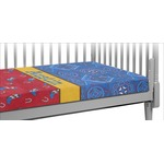 Cowboy Crib Fitted Sheet (Personalized)