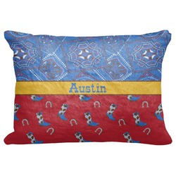 "Cowboy Decorative Baby Pillowcase - 16""x12"" (Personalized)"
