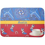 Cowboy Dish Drying Mat (Personalized)