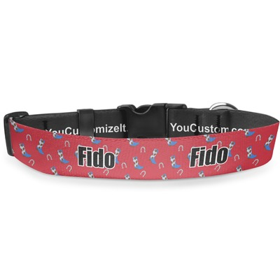 Cowboy Deluxe Dog Collar (Personalized)