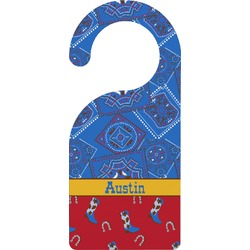 Cowboy Door Hanger (Personalized)