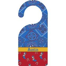 Cowboy Door Hanger (Personalized)