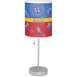 "Cowboy 7"" Drum Lamp with Shade (Personalized)"