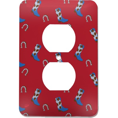 Cowboy Electric Outlet Plate (Personalized)