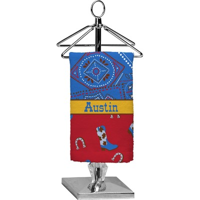 Cowboy Finger Tip Towel - Full Print (Personalized)
