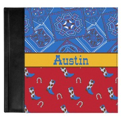 Cowboy Genuine Leather Baby Memory Book (Personalized)