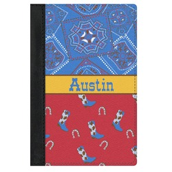 Cowboy Genuine Leather Passport Cover (Personalized)