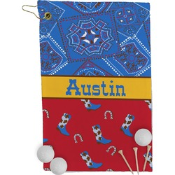 Cowboy Golf Towel - Full Print (Personalized)