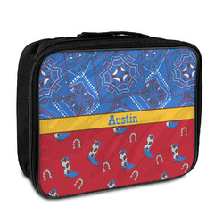 Cowboy Insulated Lunch Bag (Personalized)