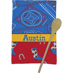 Cowboy Kitchen Towel - Full Print (Personalized)