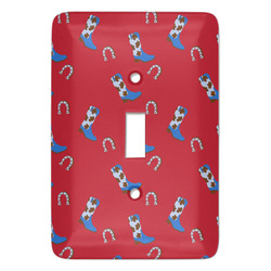 Cowboy Light Switch Covers - Multiple Toggle Options Available (Personalized)