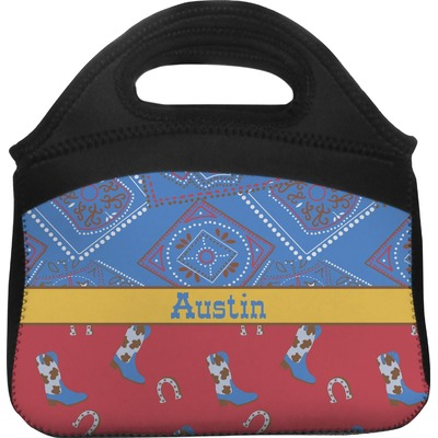 Cowboy Lunch Tote (Personalized)