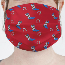 Cowboy Face Mask Cover (Personalized)