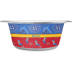 Cowboy Stainless Steel Pet Bowl (Personalized)
