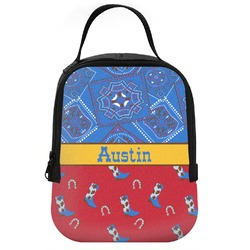 Cowboy Neoprene Lunch Tote (Personalized)