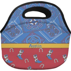 Cowboy Lunch Bag (Personalized)