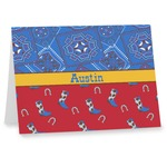 Cowboy Note cards (Personalized)