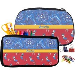 Cowboy Pencil / School Supplies Bag (Personalized)