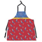 Cowboy Apron Without Pockets w/ Name or Text