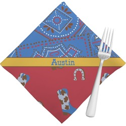 Cowboy Napkins (Set of 4) (Personalized)