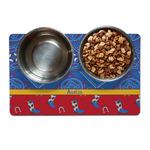 Cowboy Dog Food Mat (Personalized)