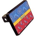 """Cowboy Rectangular Trailer Hitch Cover - 2"""" (Personalized)"""