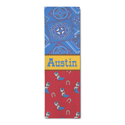 Cowboy Runner Rug - 3.66'x8' (Personalized)