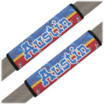Cowboy Seat Belt Covers (Set of 2) (Personalized)