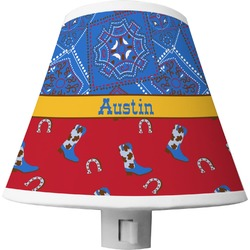 Cowboy Shade Night Light (Personalized)