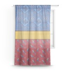 Cowboy Sheer Curtains (Personalized)