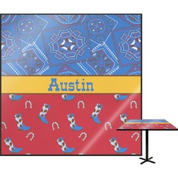 Cowboy Square Table Top (Personalized)
