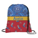 Cowboy Drawstring Backpack (Personalized)