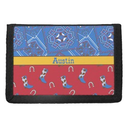 Cowboy Trifold Wallet (Personalized)