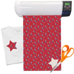 "Cowboy Heat Transfer Vinyl Sheet (12""x18"")"