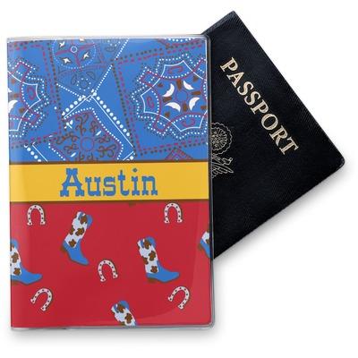 Cowboy Vinyl Passport Holder (Personalized)