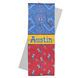 Cowboy Yoga Mat Towel (Personalized)