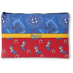 Cowboy Zipper Pouch (Personalized)