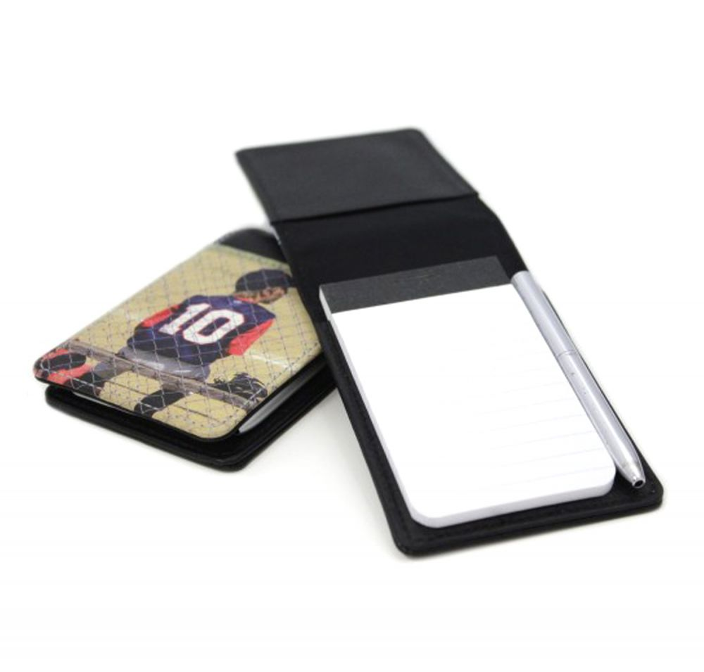 Memo pad front and back