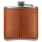 Leather Flask Back