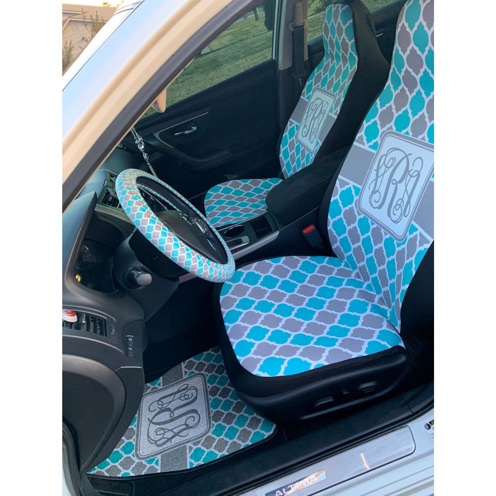 Sloth Car Seat Covers Set Of Two Personalized Youcustomizeit
