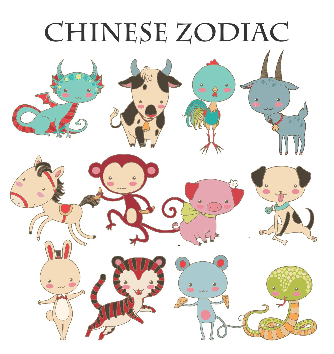 Chinese Zodiac Door Hanger Personalized Rnk Shops