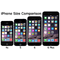iPhones - Size Comparison Chart