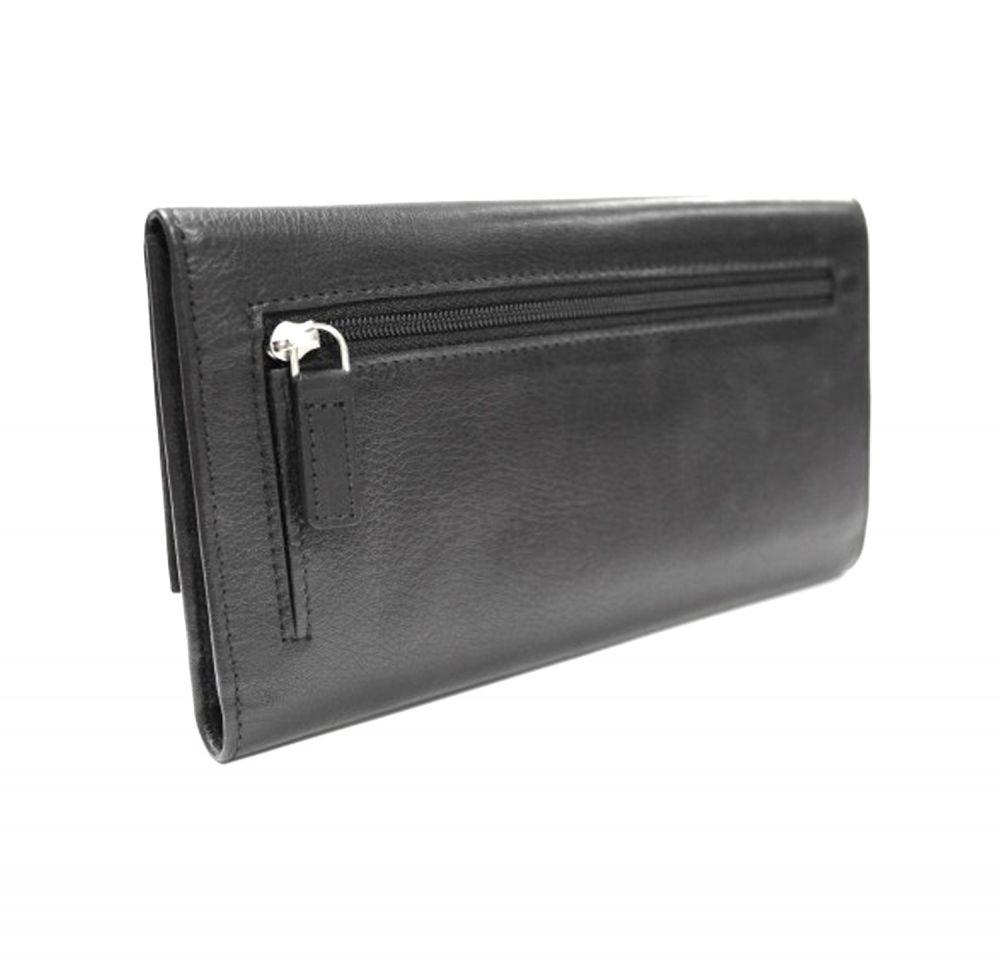 Genuine Leather Ladies Wallet - Back View