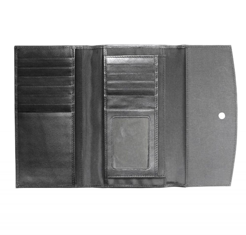 Genuine Leather Ladies Wallet - Inside View