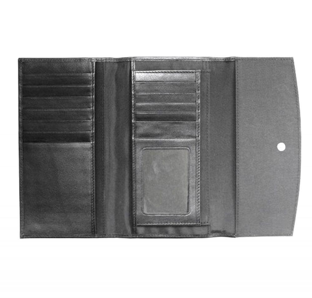 Genuine Leather Ladies Wallet - Inside View